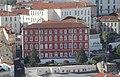 Lisbon, view from Castelo de São Jorge towards building behind the Rossio train station.JPG