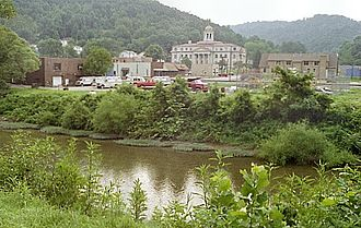 Coal River (West Virginia) - The Little Coal River at Madison