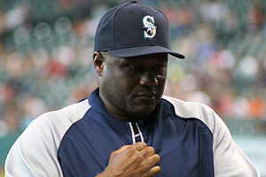 Lloyd McClendon - McClendon with the Seattle Mariners