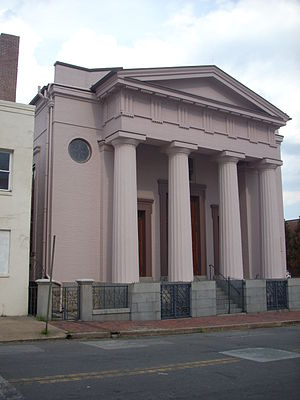 History of the Jews in Baltimore - Lloyd Street Synagogue