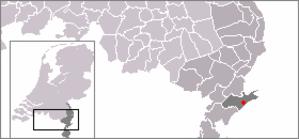 Vlodrop - Image: Locatie Vlodrop