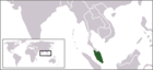 Map of Federation of Malaya