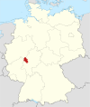 Locator map LDK in Germany.svg