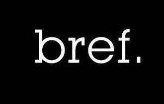 Bref - Image: Logo Bref