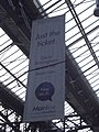London Marylebone Station - banner - Just the Ticket - Go to Birmingham for £6 (8090953735).jpg
