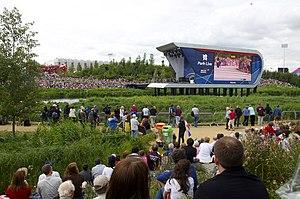 Park Live - Image: London Olympic Park Park Live