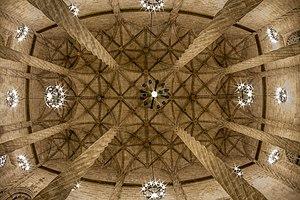 Valencian Gothic - Lonja of Valencia.