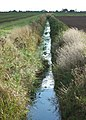 Looking along the field drain towards Highgate - geograph.org.uk - 1010222.jpg