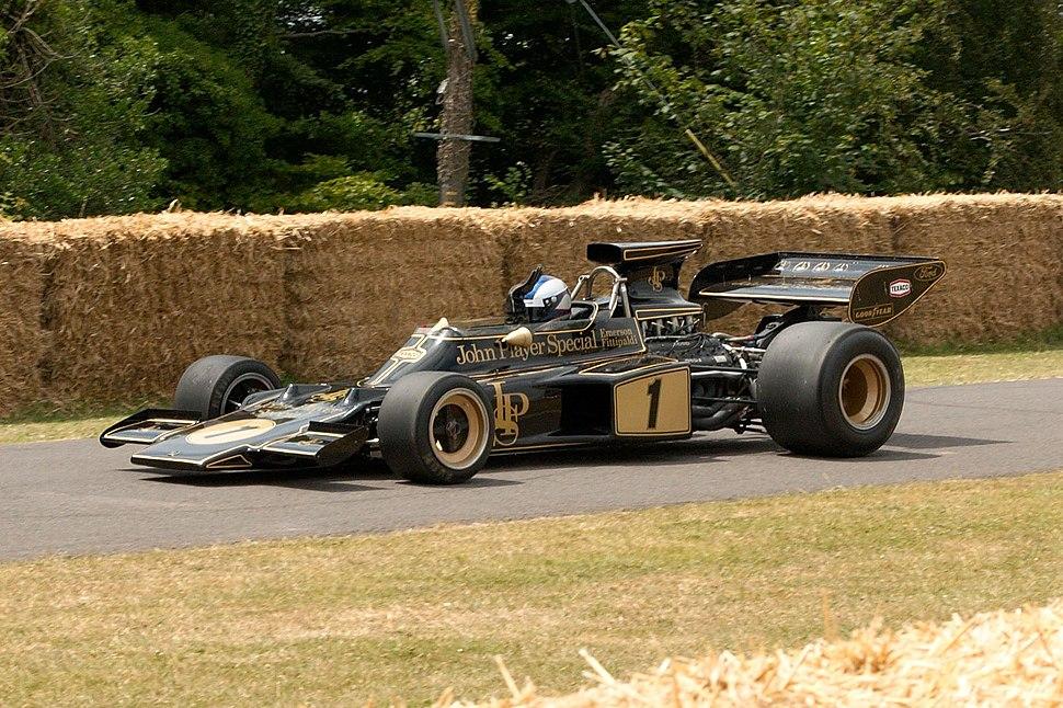 Lotus 72E at Goodwood 2010