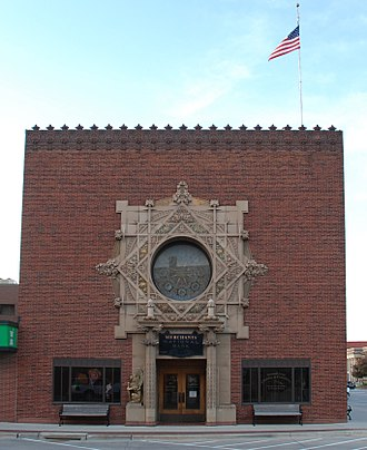 Grinnell, Iowa - Merchants' National Bank in Grinnell Architect: Louis Sullivan