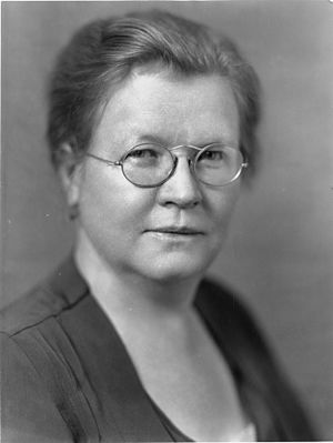 Bureau of Home Economics - Louise Stanley was the first head of the USDA Bureau of Home Economic when she was appointed in 1923.