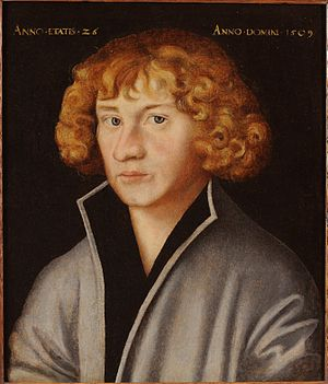 George Spalatin - Portrait by Lucas Cranach the Elder.