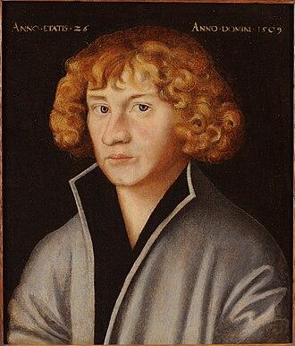 Spalt - Portrait of Georg Spalatin 1509
