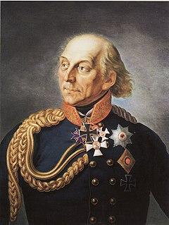 Ludwig Yorck von Wartenburg Prussian Field Marshal