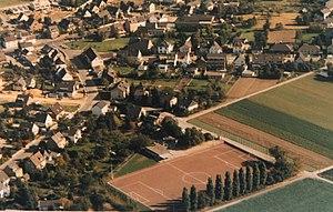 Luftbild auf Reusrath, Stadtteil Langenfeld (Rheinland)