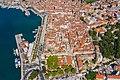 Luftbild vom Diokletianpalast in Split, Kroatien (48608754492).jpg