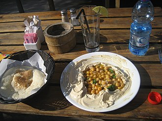 Pita - Image: Lunch at the beach North of Jaffa (4158698648)