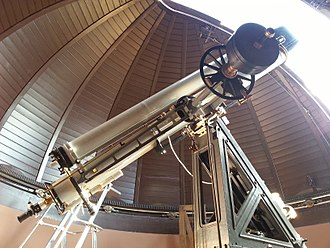 Camille Flammarion Observatory - Observatory's telescope in 2012