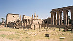 Luxor, Luxor Temple, south west view 2, Egypt, Oct 2004.jpg