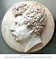 Médaillon plâtre d'Alexandre Dumas (1802-1870).jpg