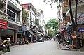 Một góc phố Trần Phú, gần ngã ba giao với phố Trần Thủ Độ, thành phố Hải Dương, tỉnh Hải Dương.jpg