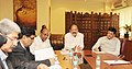 M. Venkaiah Naidu along with the Union Minister for Heavy Industries and Public Enterprises, Shri Anant Geete and the Minister of State for Power, Coal, New and Renewable Energy and Mines (Independent Charge).jpg