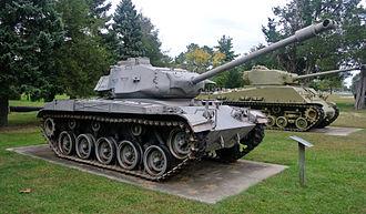 M41 Walker Bulldog - M41 Bulldog tank at Fort Meade Museum, Maryland.