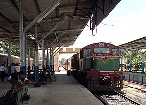 Rail transport in Sri Lanka - Matara Terminus on the Coast Line