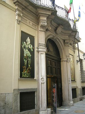 Museum of Oriental Art (Turin) - Image: MAO, ingresso
