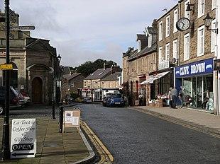 Main Street Haltwhistle looking east