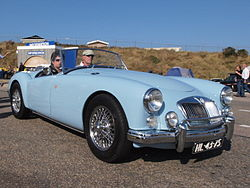 MG A1600 dutch licence registration HL-43-75-.JPG