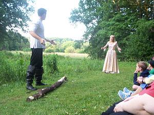 Shakespeare in the Arb - Image: MI Ann Arbor Shakespeareinthe Arb