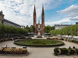 Luisenplatz in Wiesbaden