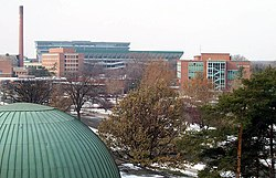 The South Campus skyline.