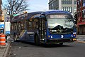 MTA NYC Bus B32 bus turning onto 21st St.jpg