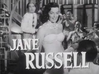 Macao (film) - Screenshot of Jane Russell from the trailer