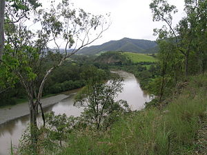 Macleay River - Macleay River, viewed at Lower Creek