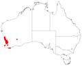 Macrozamia fraseri Dist Map10.png