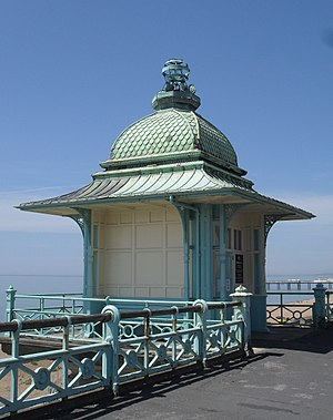 Grade II listed buildings in Brighton and Hove: M - Image: Madeira Lift Tower, Marine Parade, Brighton (NHLE Code 1381696)
