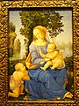 Madonna and Child with Infant Saint John the Baptist, Lorenzo di Credi, Florence, c. 1510 - Nelson-Atkins Museum of Art - DSC08553.JPG