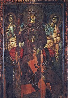 7th or 8th century painting