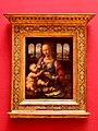 Madonna of the Carnation Leonardo da Vinci Alte Pinakothek München Germany - panoramio.jpg