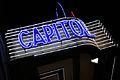 Madrid. Capitol Cinema neon sign. Gran Vía street. Spain (2850231969).jpg