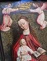 Maestro del fogliame ricamato, madonna incoronata da angeli, 1476-1482 ca. 02.JPG