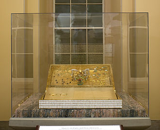 United States Bicentennial - Magna Carta Replica and display case