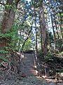 Main approach to Takakura-jinja shrine in Haramachi ward.JPG