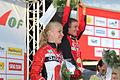 Maja Alm, World Orienteering Championships 2012, sprint, silvermedalist.JPG