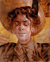 Portret Marii Balowej