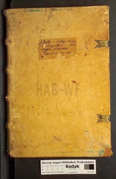 File:Malleus maleficarum (ed. II) - pars prima.djvu