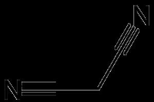 Methylene bridge - Image: Malononitrile